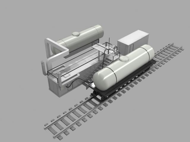 Установка для промывки цистерн и танк-контейнеров